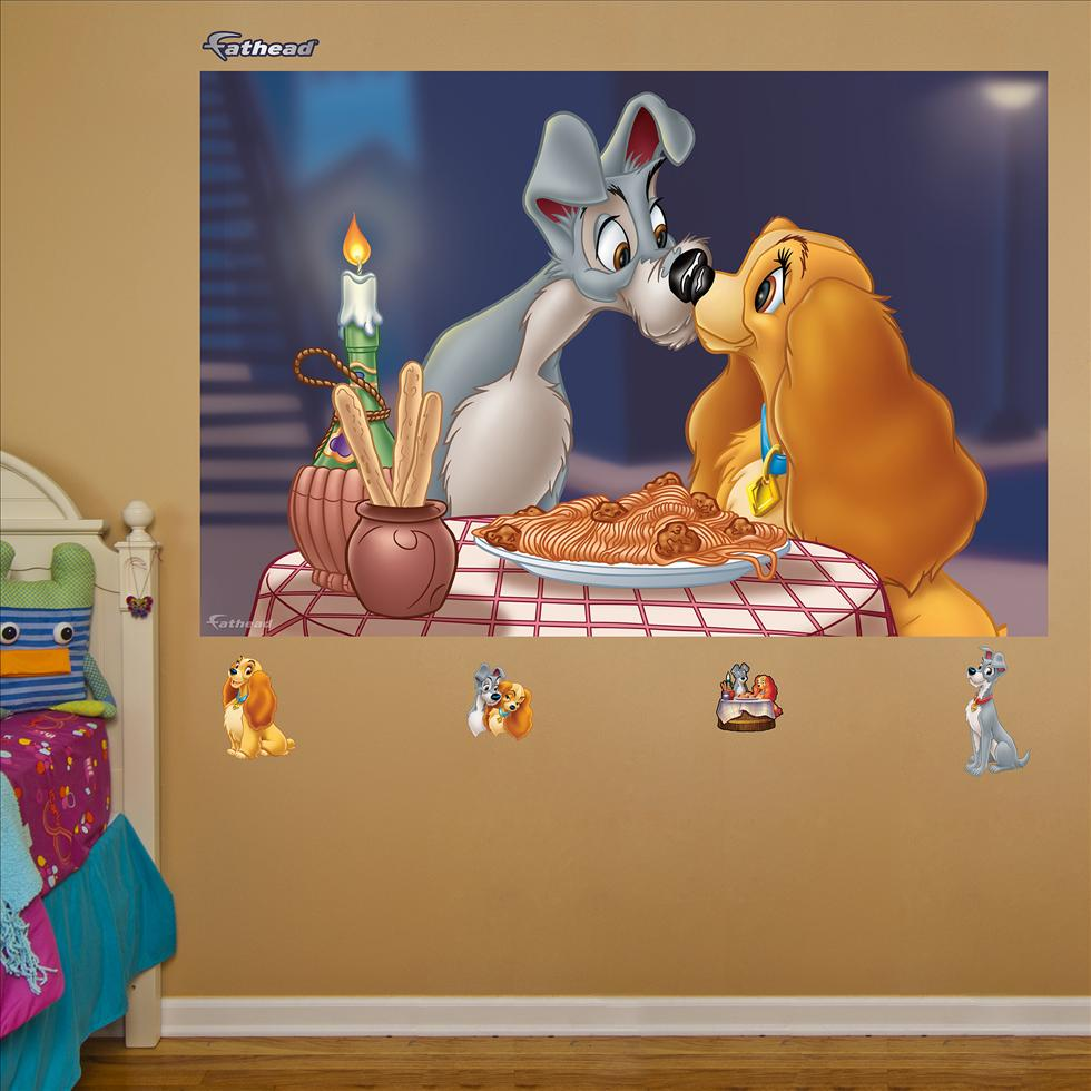Lady and the Tramp Mural-Fathead