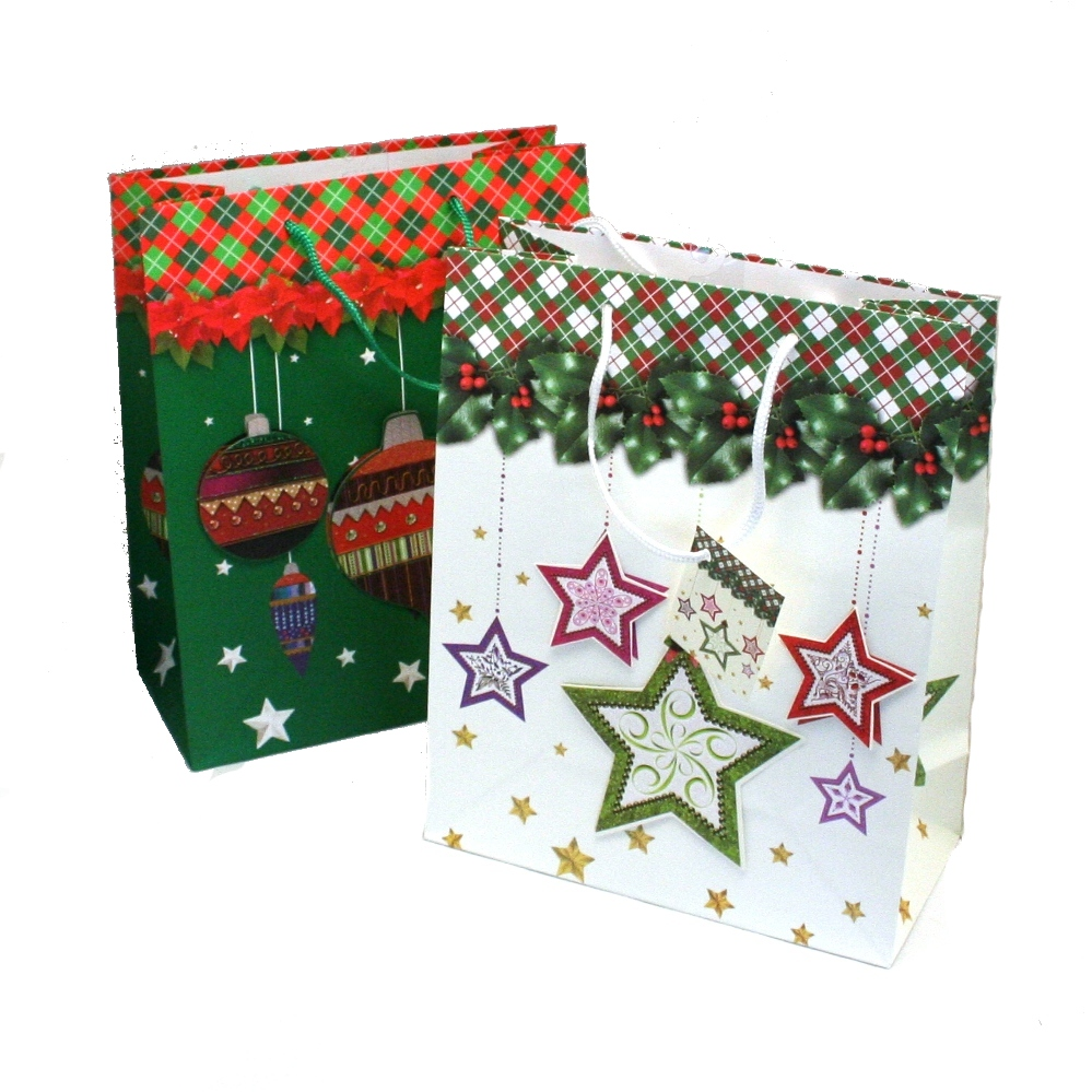 large pop up christmas gift bags