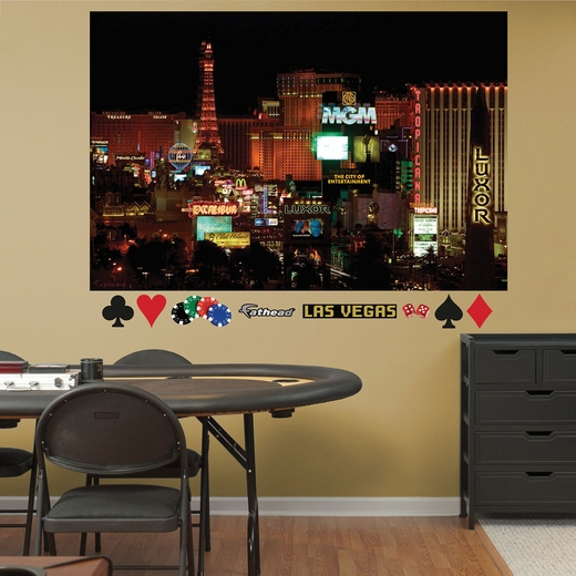 Las Vegas Strip Mural REALBIG Wall Decal