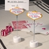 Las Vegas Themed Place Card Holders