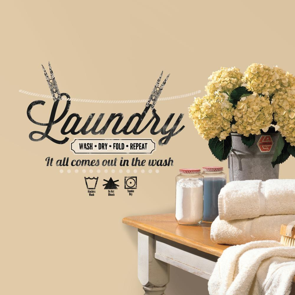 Laundry Quote Decal