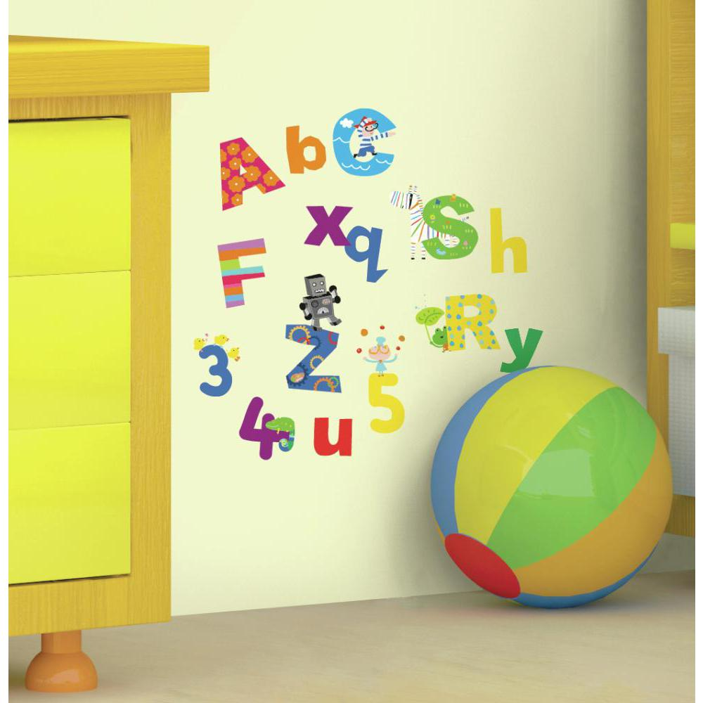 Lazoo Alphabet Decal
