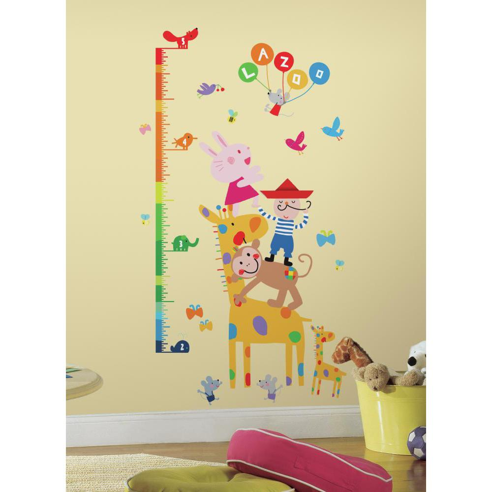 Lazoo Growth Chart Decal