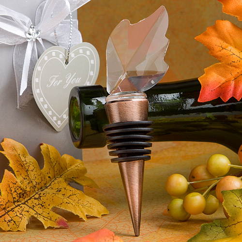 Leaf Wine Bottle Stoppers