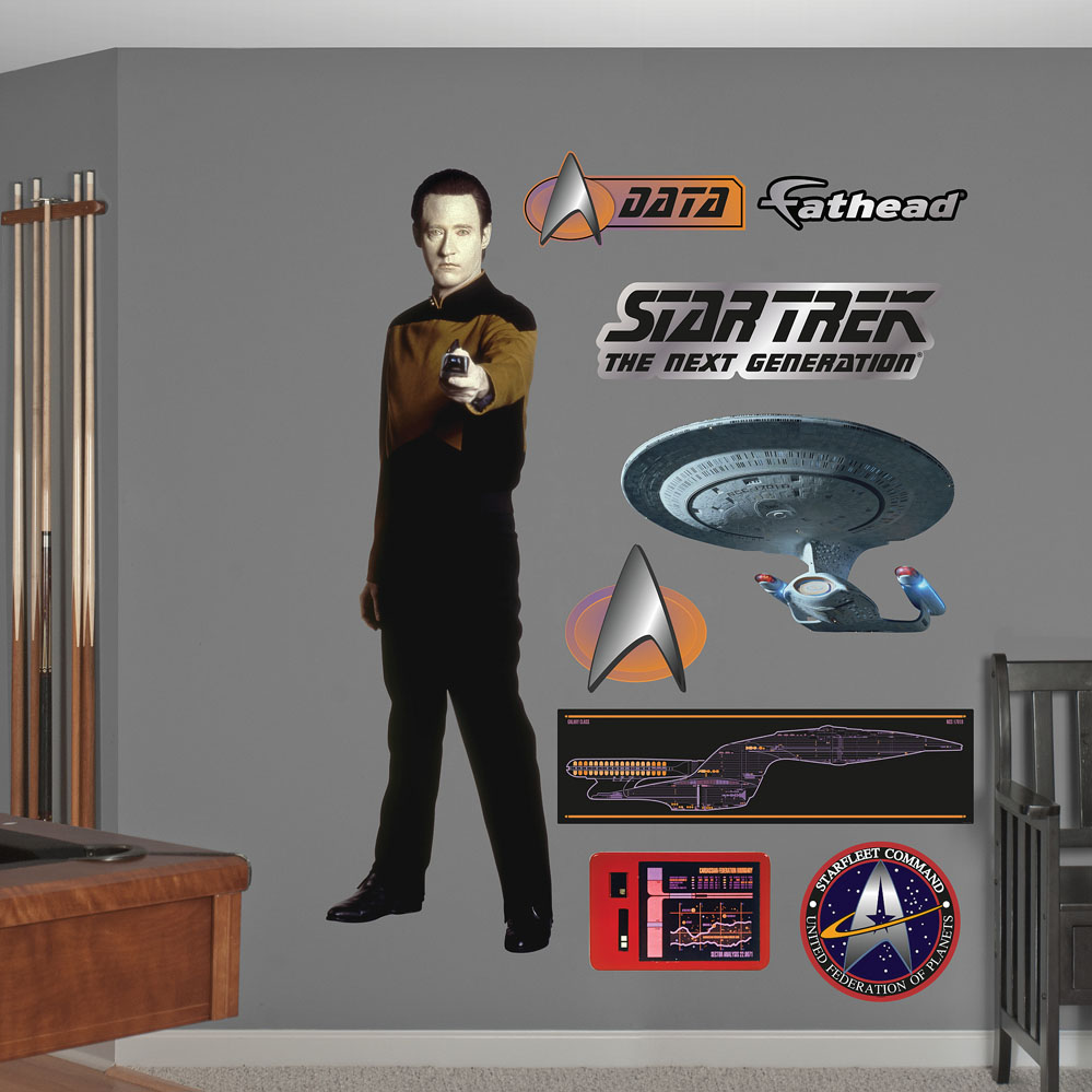 Lieutenant Commander Data REALBIG Wall Decal