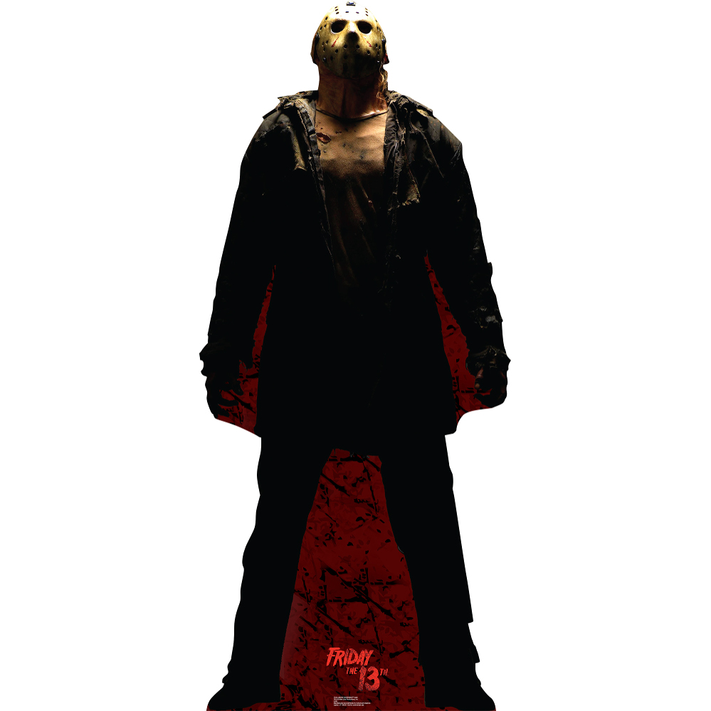 lifesized jason voorhees dark standup