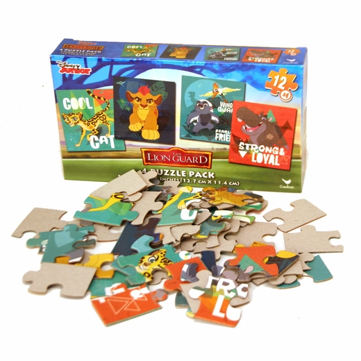 Lion Guard Four Pack Puzzles
