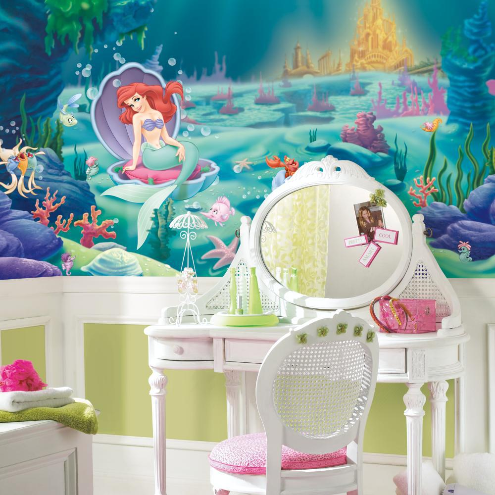 Littlest Mermaid Chair Rail