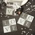 Love Glass Coasters Set Of 2