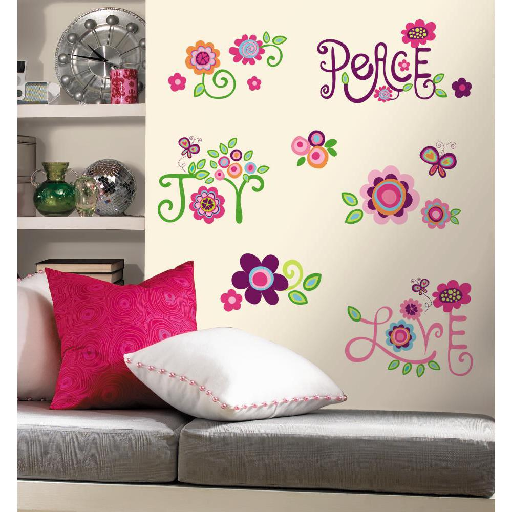 Love Joy Peace Peel And Stick Decal