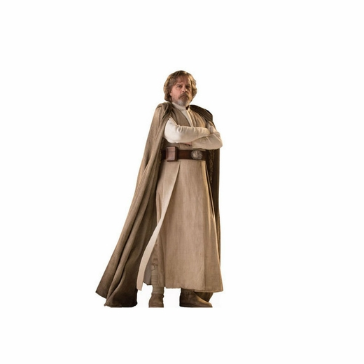 Luke Skywalker Star Wars 8 The Last Jedi Cardboard Cutout