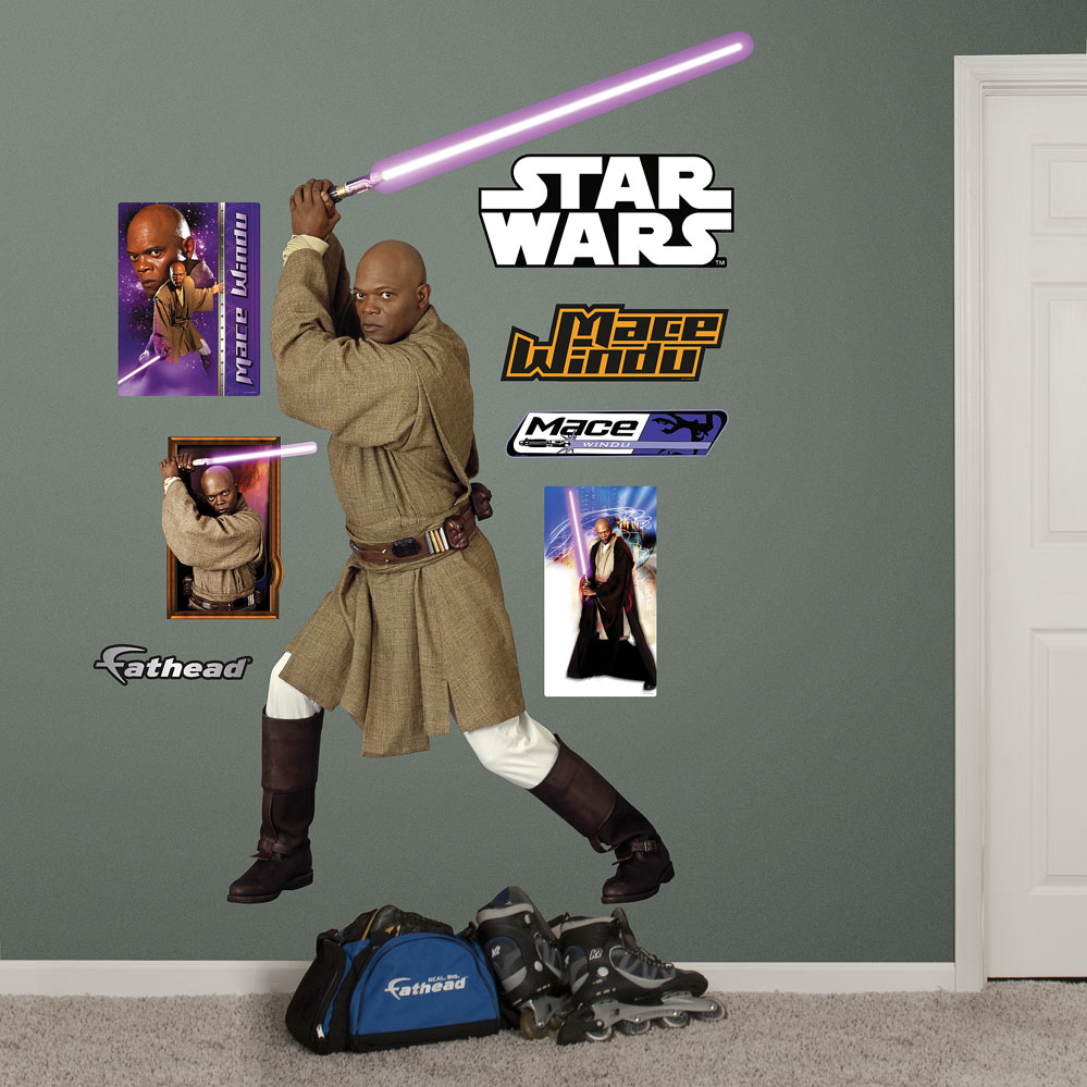 Mace Windu REALBIG Wall Decal