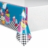 Mad Hatter Tea Party Plastic Table Cover - Rectangle