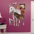 Mare And Foal REALBIG Wall Decal