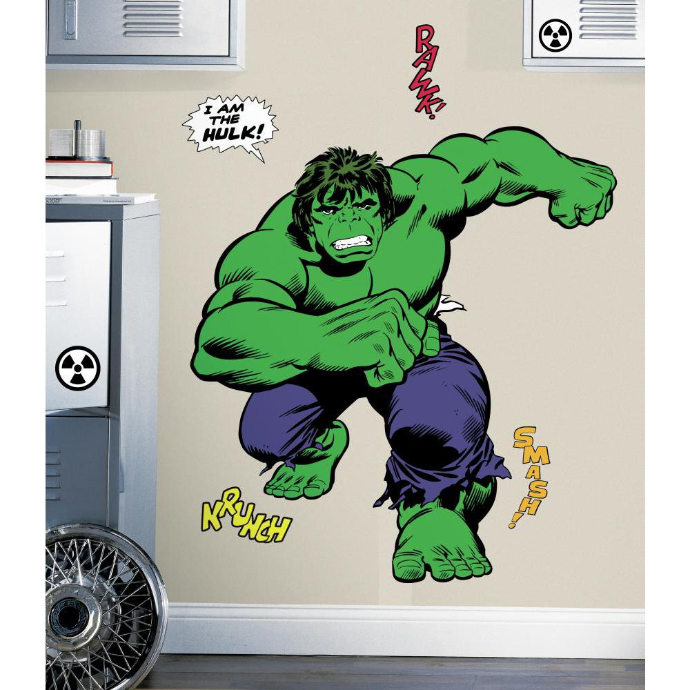 Marvel Classic Hulk Giant Decal
