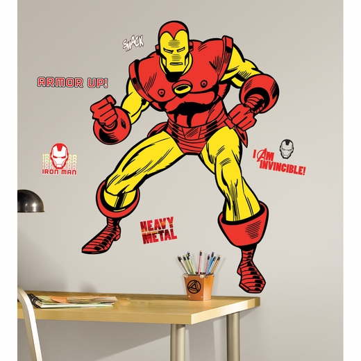 Marvel Classic Iron Man Giant Decal