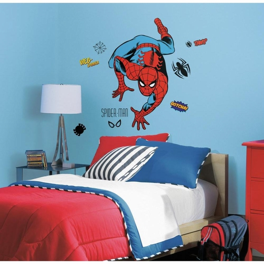 Marvel Classic Spiderman Giant Decal