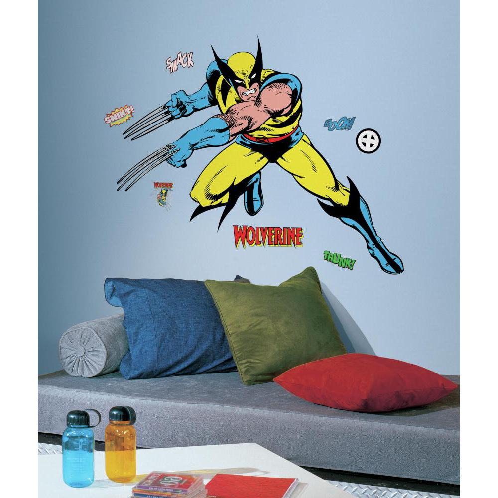 Marvel Classic Wolverine Giant Decal