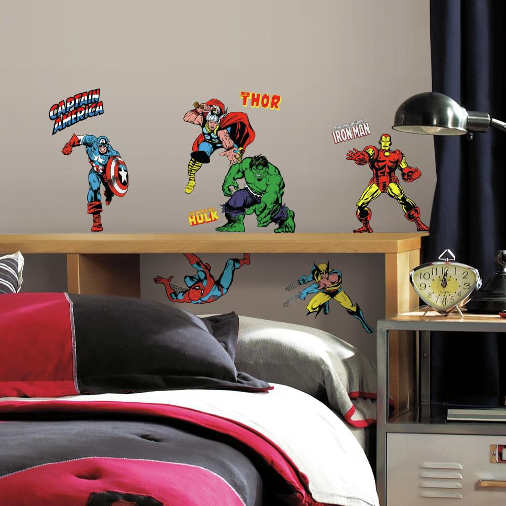 Marvel Classics Decal