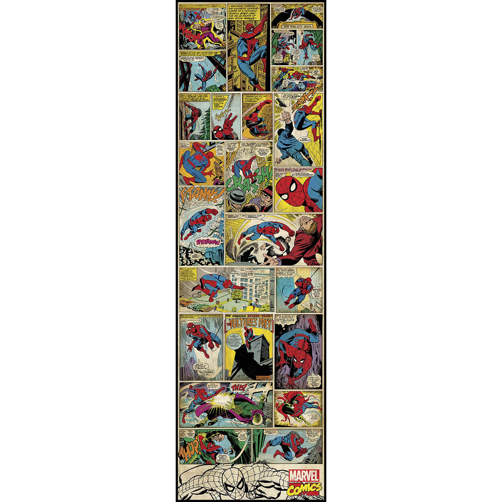 Marvel Comic Panel-Spiderman Classic Giant Decal