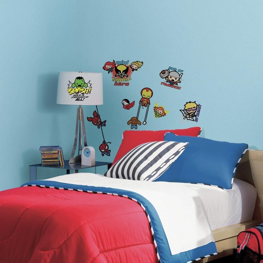 Marvel Superhero Kawaii Art Decal