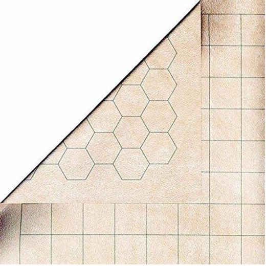 Megamat With 1 Inch Squares And Hexes