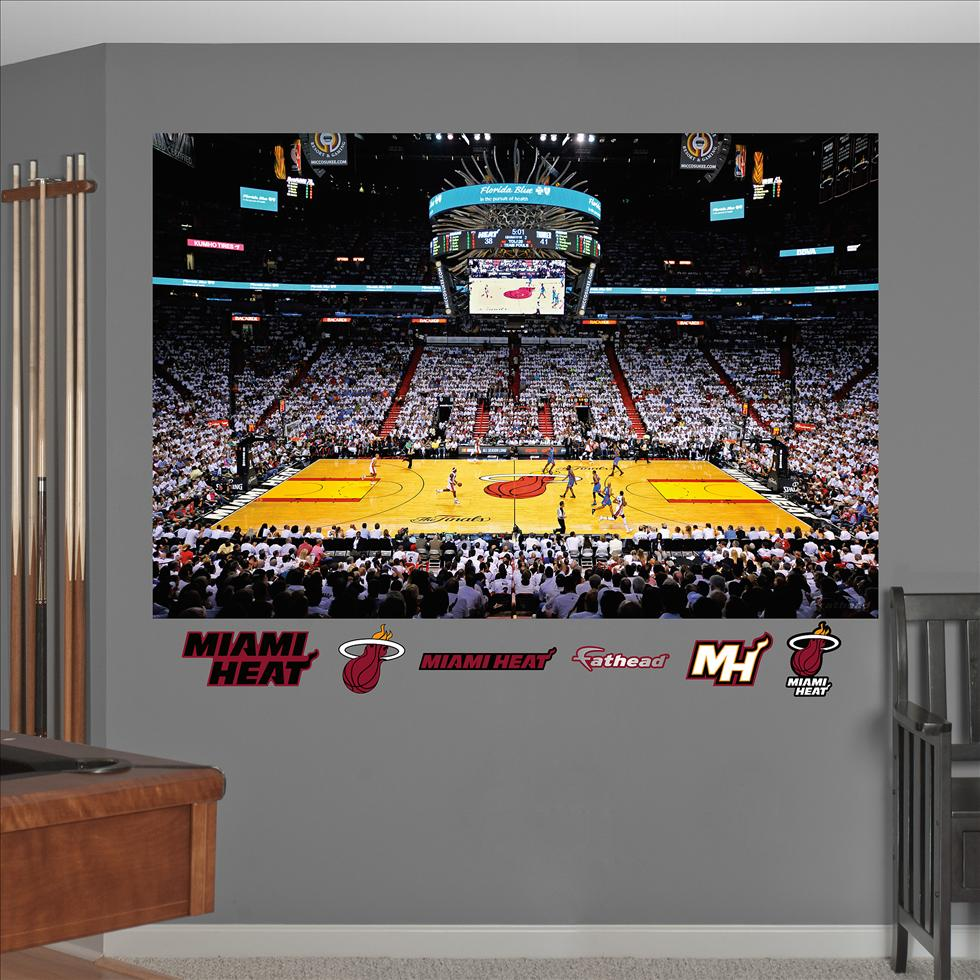 Miami Heat '12 NBA Finals Stadium Mural-Fathead