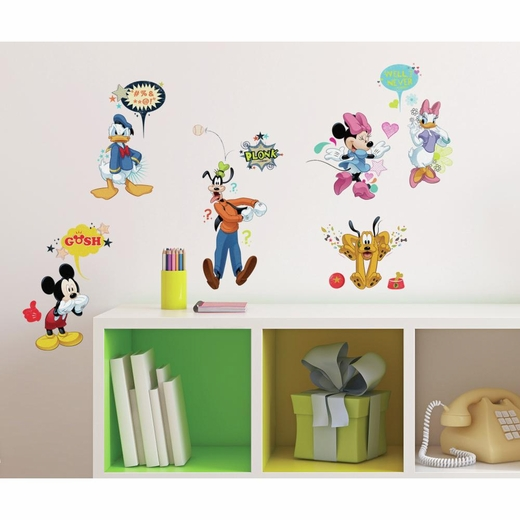 Mickey And Friends Animated Fun Decal
