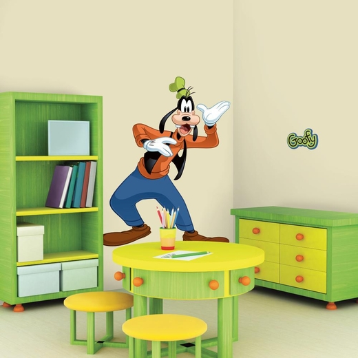 Mickey And Friends-Goofy Peel And Stick Decal