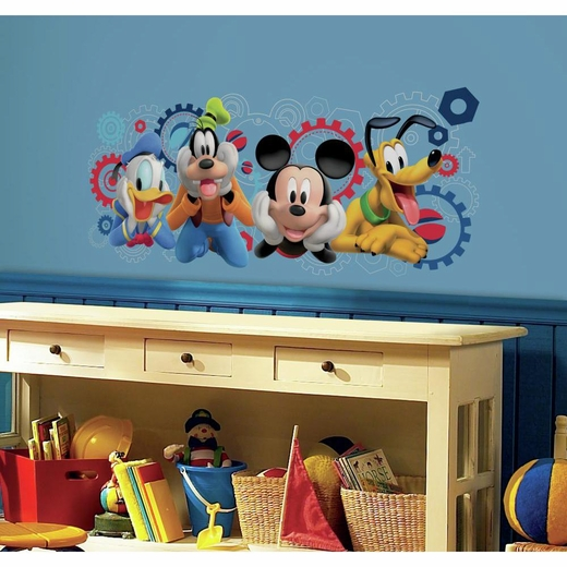 Mickey Mouse Clubhouse Capers Giant Decal