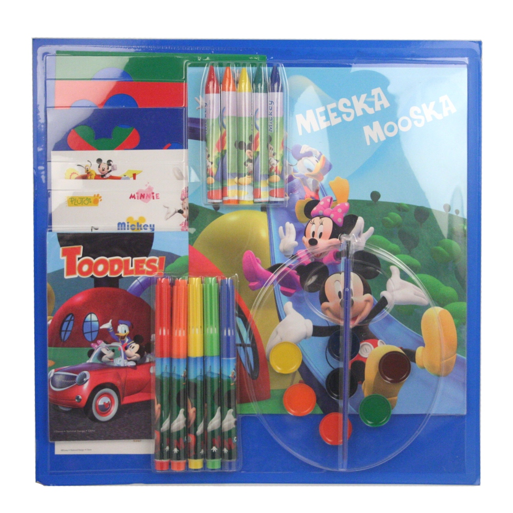 Mickey Mouse Clubhouse Deluxe Art Set