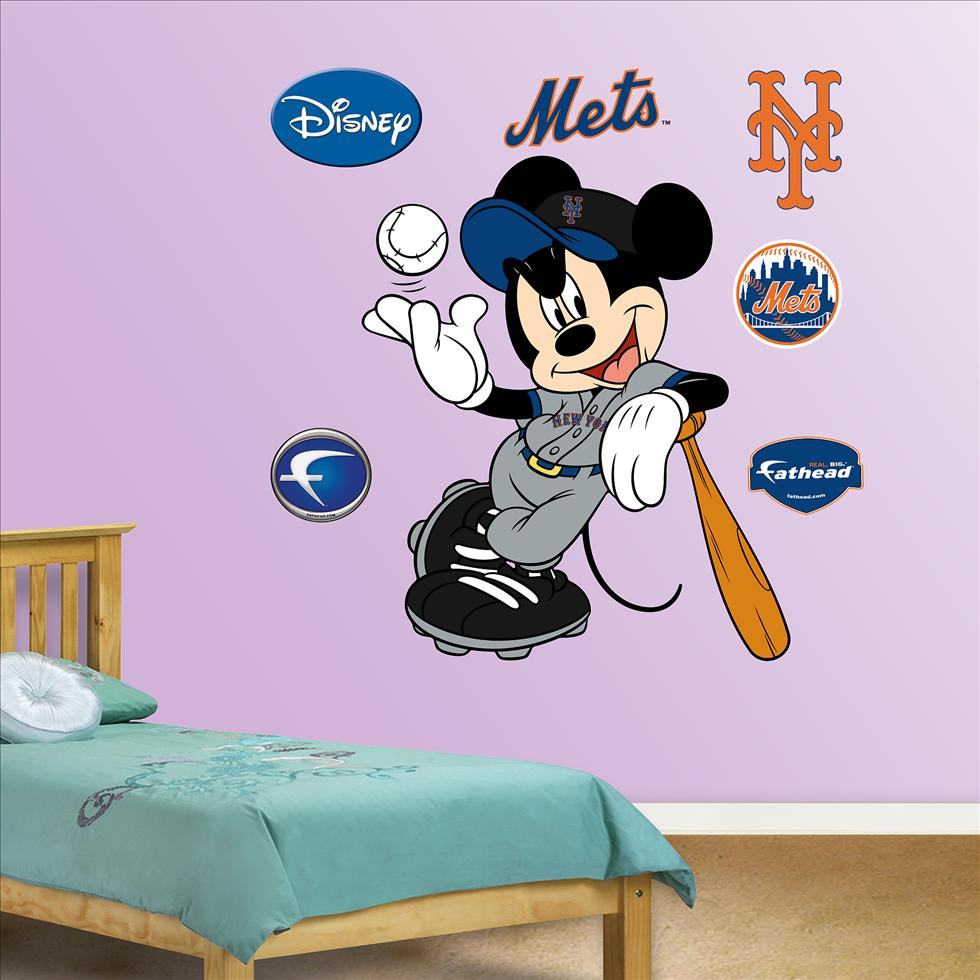 Mickey Mouse Mets-Fathead