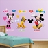 Mickey Mouse, Minnie And Pluto-Fathead