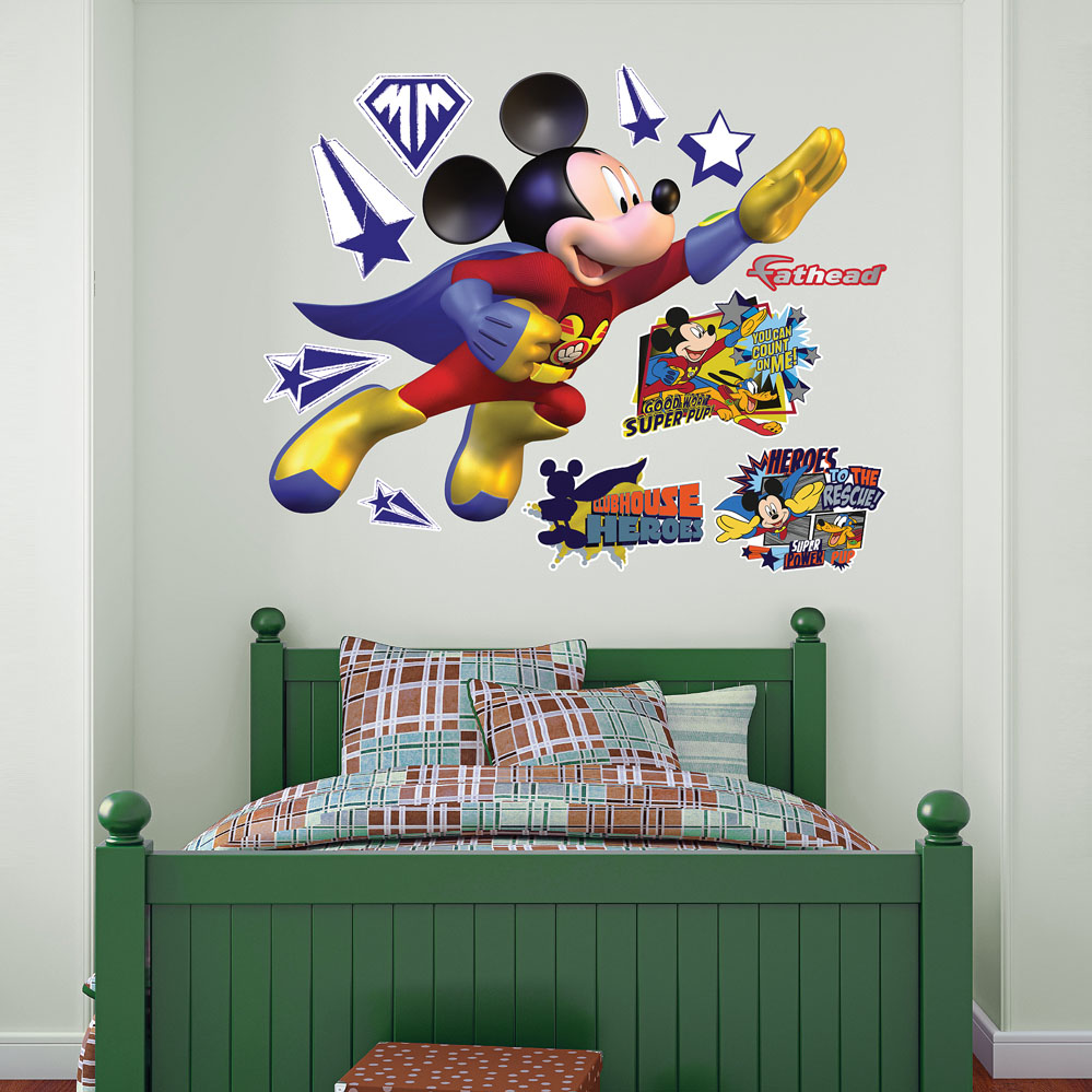 Mickey Mouse Super Adventure REALBIG Wall Decal
