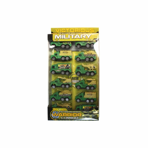 Military Toy Truck Set