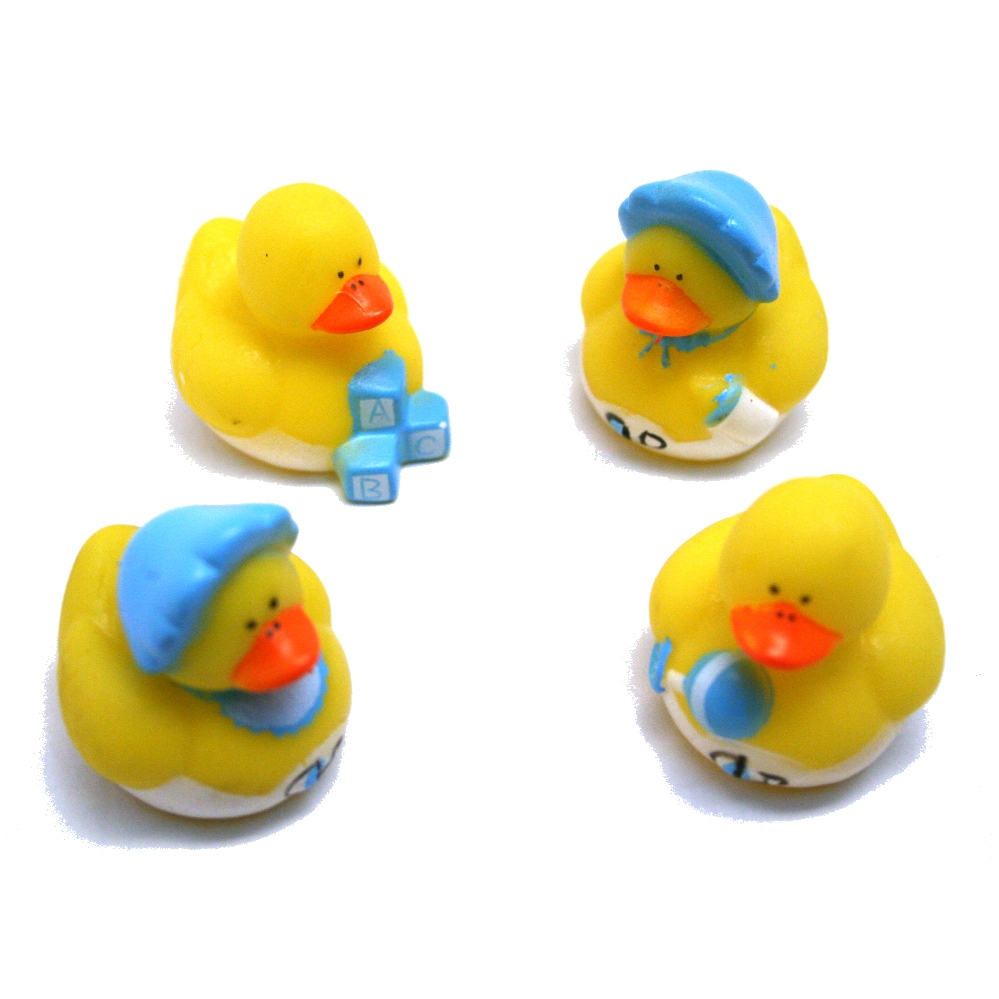 Mini Baby Boy Rubber Ducks