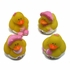 Mini Baby Girl Rubber Duckies