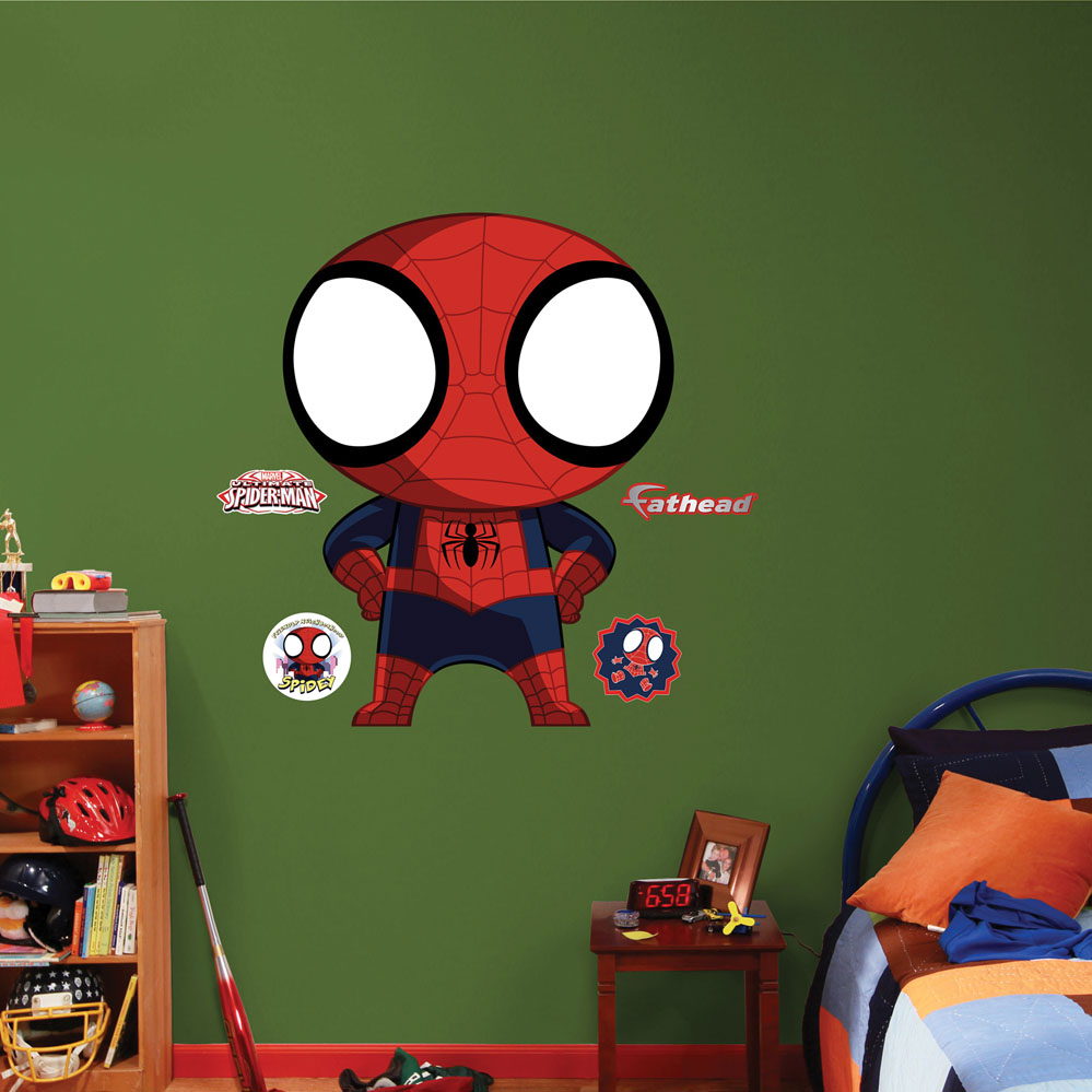 Mini Ultimate Spider-Man REALBIG Wall Decal