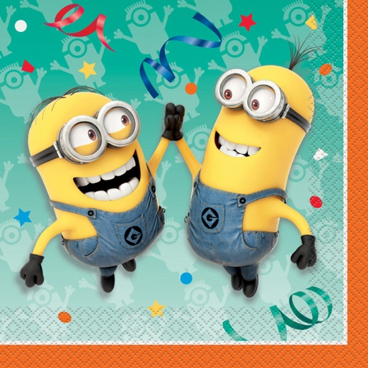 Minions Lunch Napkins