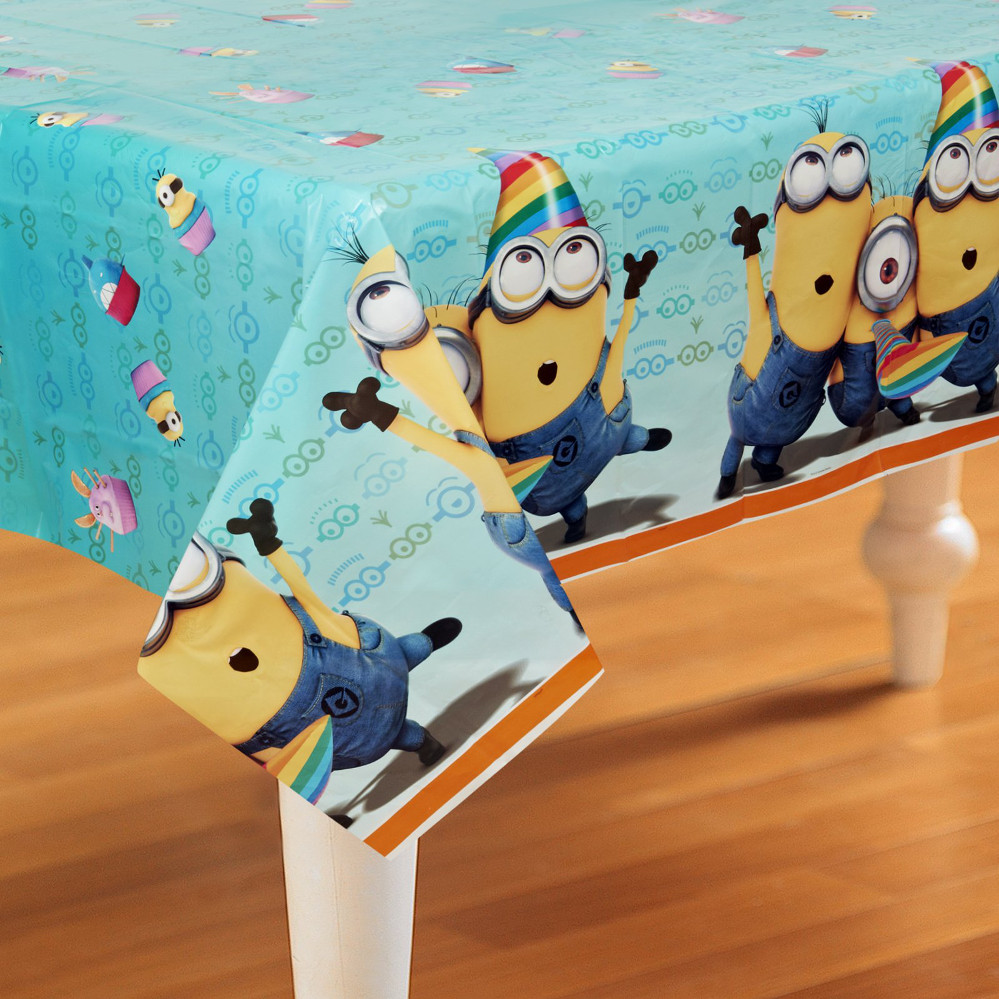 Minions Plastic Table Cover - Rectangle