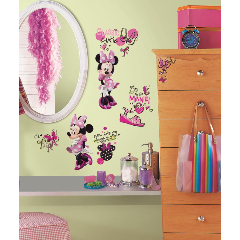 Minnie Fashionista Decal