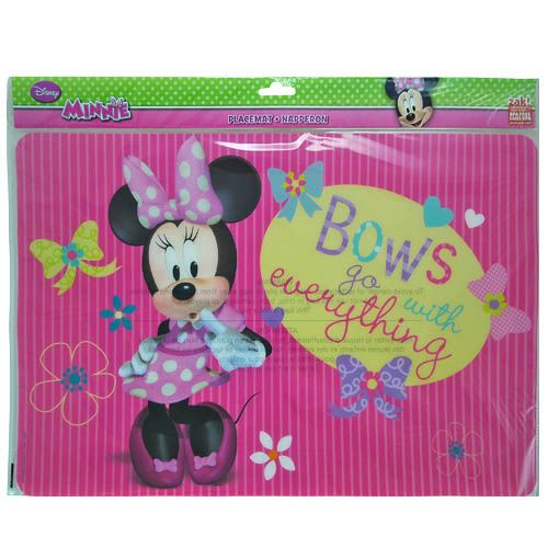 Minnie Mouse Table Placemats