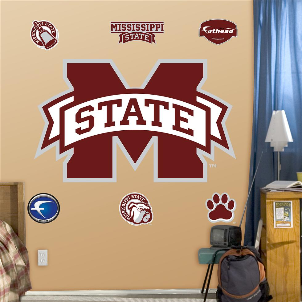 Mississippi State Logo-Fathead