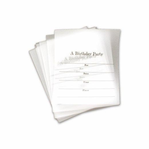 Mix And Match Party Invitations