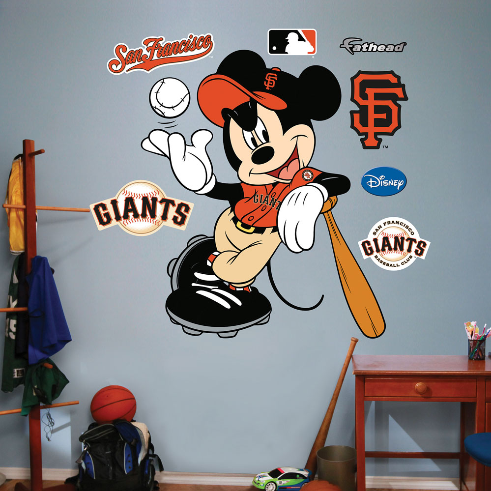 MLB-Disney San Francisco Giants Mickey Mouse