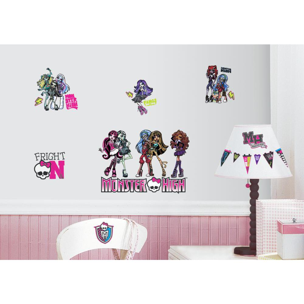 Monster High Peel And Stick Decal
