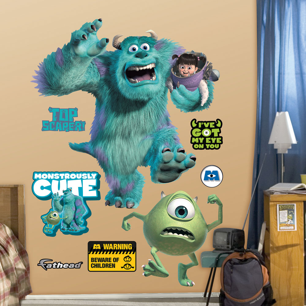 Monsters Inc. REALBIG Wall Decal