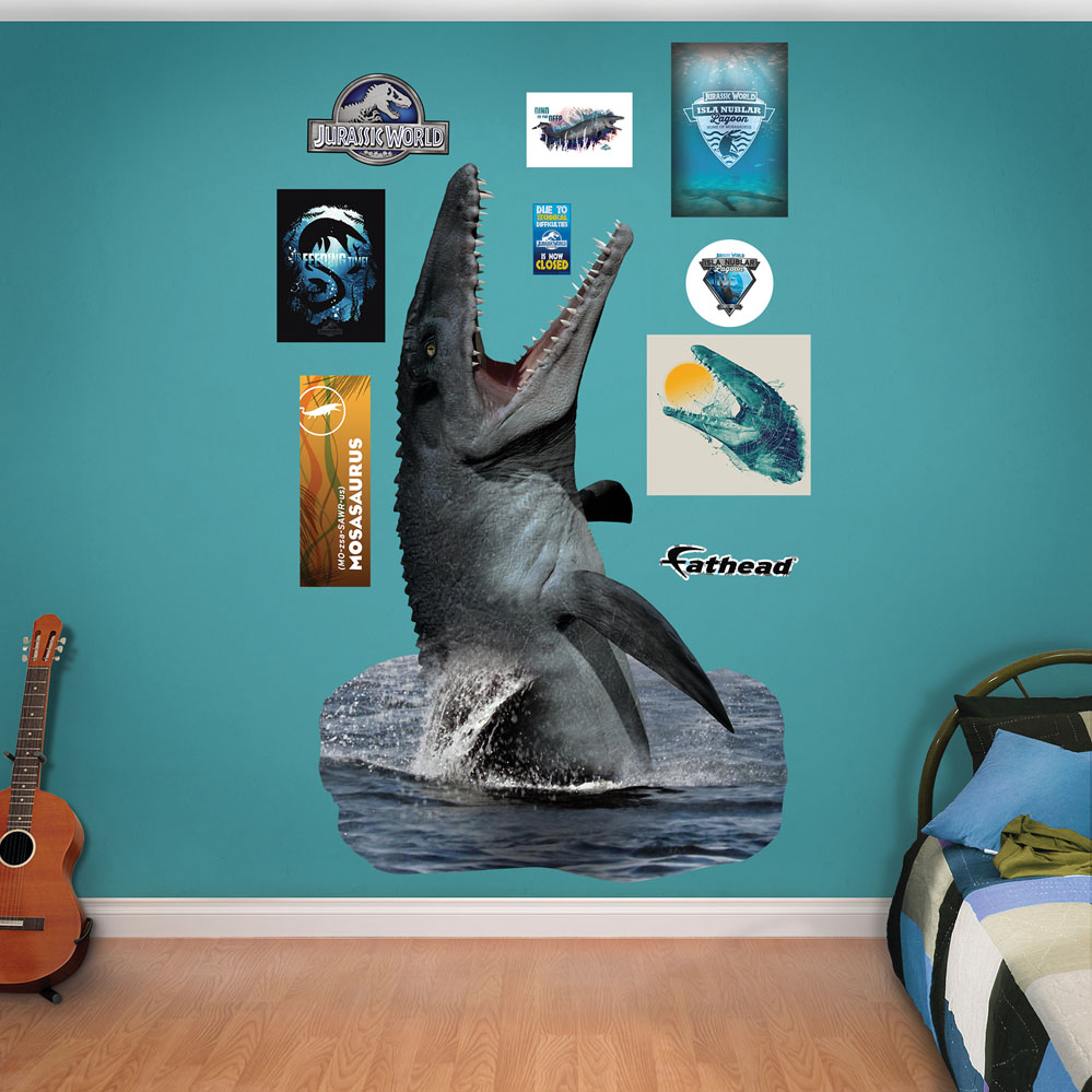Mosasaurus Jurassic World Fathead Wall Decals