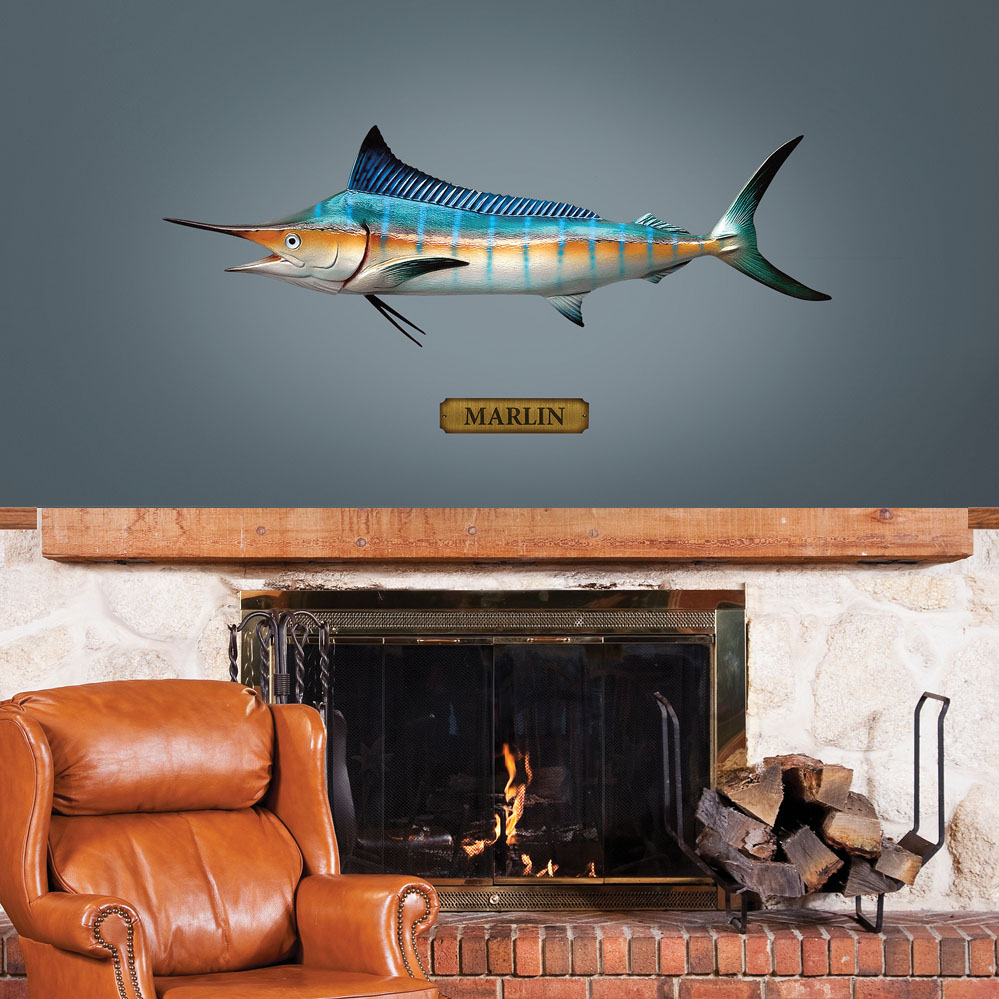 Mounted Marlin REALBIG Wall Decal