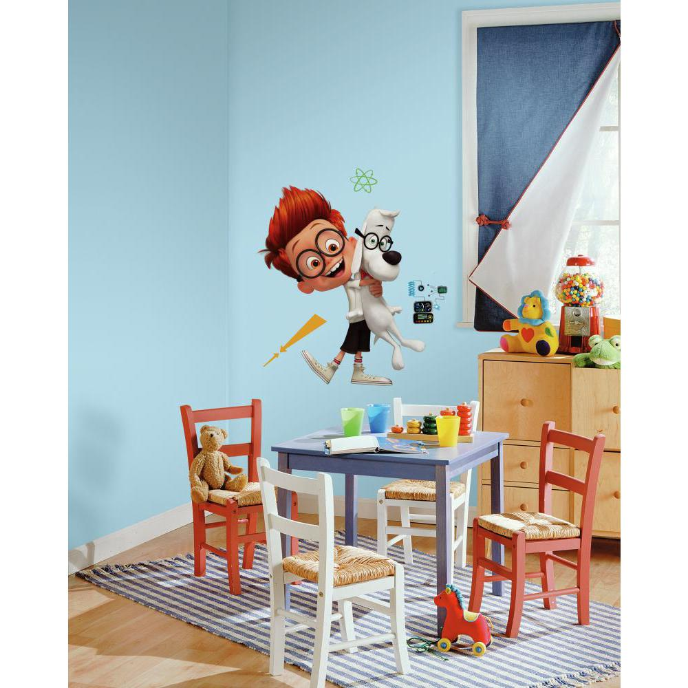 Mr Peabody And Sherman Giant Decal